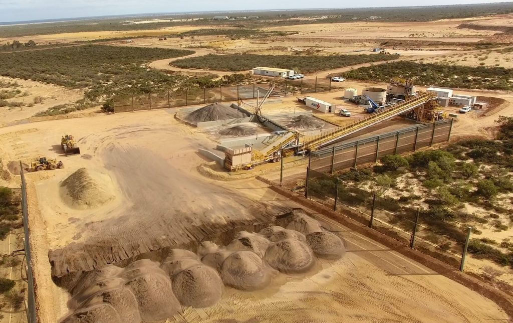 Aerial view of the ProjX designed Eneabba plant